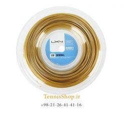 زه رول تنیس لوکسیلون سری ORIGINAL مدل 1.30 رنگ طلایی