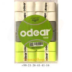 اورگریپ راکت تنیس اودیر سری comfort مدل 12 عددی رنگ سبز سفید خاکستری