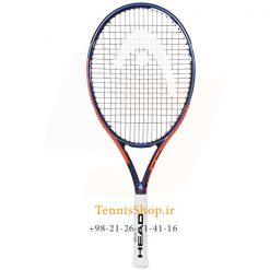 راکت تنیس هد سری IG Challenge مدل Lite رنگ نارنجی