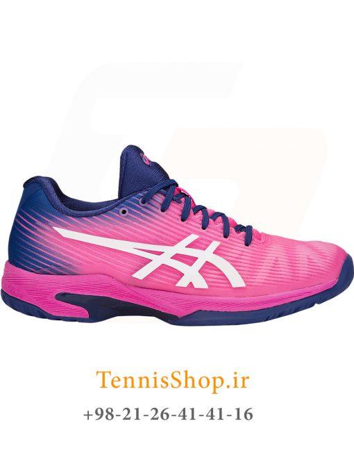 کفش تنیس اسیکس سری Solution Speed FF رنگ صورتی