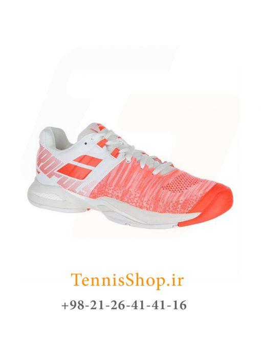 """تنیس زنانه بابولات مدل Propulse Blast رنگ قرمز سفید4 5 <p style=""""text-align: justify;""""><span style=""""color: #000000;""""><span style=""""color: #ff6600;""""><a style=""""color: #ff6600;"""" href=""""https://tennisshop.ir/product-category/%D8%AE%D8%B1%DB%8C%D8%AF-%DA%A9%D9%81%D8%B4-%D8%AA%D9%86%DB%8C%D8%B3/%D8%A8%D8%B1%D9%86%D8%AF-%DA%A9%D9%81%D8%B4-%D8%AA%D9%86%DB%8C%D8%B3/%DA%A9%D9%81%D8%B4-%D8%AA%D9%86%DB%8C%D8%B3-%D8%A8%D8%A7%D8%A8%D9%88%D9%84%D8%A7%D8%AA/""""><strong>کفش تنیس بابولات</strong></a></span> <span style=""""color: #ff6600;""""><strong><a style=""""color: #ff6600;"""" href=""""https://tennisshop.ir/series/%d8%a8%d8%a7%d8%a8%d9%88%d9%84%d8%a7%d8%aa-propulse-blast/"""">سری Propulse Blast</a></strong></span> رنگ قرمز سفید محصول شرکت Babolat می باشد. این کفش تنیس از مواد اولیه بسیار با کیفیتی ساخته شده که عمر و دوام این کفش را به اندازه قابل توجهی بهبود بخشیده است. مناسب برای بازیکنانی که حرکات پای سریع مانند استارت های انفجاری و استپ های ناگهانی دارند. این کفش مناسب همه زمین های تنیس است همچنین دارای تکنولوژی ویژه ای برای ساپورت قسمت کناری پا می باشد و از پا در مقابل آسیب های وارده تا حد زیادی محافظت میکند.</span></p>"""