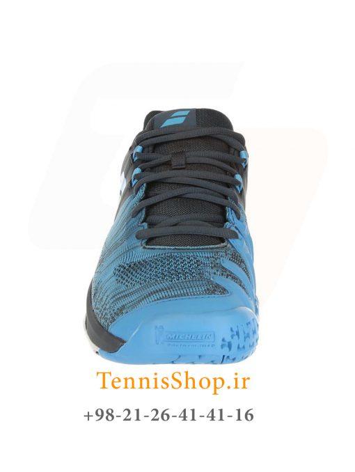 """تنیس مردانه بابولات مدل Propulse Blast رنگ خاکستری آبی3 1 <p style=""""text-align: justify;""""><span style=""""color: #000000;""""><span style=""""color: #ff6600;""""><a style=""""color: #ff6600;"""" href=""""https://tennisshop.ir/product-category/%D8%AE%D8%B1%DB%8C%D8%AF-%DA%A9%D9%81%D8%B4-%D8%AA%D9%86%DB%8C%D8%B3/%D8%A8%D8%B1%D9%86%D8%AF-%DA%A9%D9%81%D8%B4-%D8%AA%D9%86%DB%8C%D8%B3/%DA%A9%D9%81%D8%B4-%D8%AA%D9%86%DB%8C%D8%B3-%D8%A8%D8%A7%D8%A8%D9%88%D9%84%D8%A7%D8%AA/""""><strong>کفش تنیس بابولات</strong></a></span> <span style=""""color: #ff6600;""""><strong><a style=""""color: #ff6600;"""" href=""""https://tennisshop.ir/series/%d8%a8%d8%a7%d8%a8%d9%88%d9%84%d8%a7%d8%aa-propulse-blast/"""">سری Propulse Blast</a></strong></span> رنگ خاکستری آبی محصول شرکت Babolat می باشد. این کفش تنیس از مواد اولیه بسیار با کیفیتی ساخته شده که عمر و دوام این کفش را به اندازه قابل توجهی بهبود بخشیده است. مناسب برای بازیکنانی که حرکات پای سریع مانند استارت های انفجاری و استپ های ناگهانی دارند. این کفش مناسب همه زمین های تنیس است همچنین دارای تکنولوژی ویژه ای برای ساپورت قسمت کناری پا می باشد و از پا در مقابل آسیب های وارده تا حد زیادی محافظت میکند.</span></p>"""