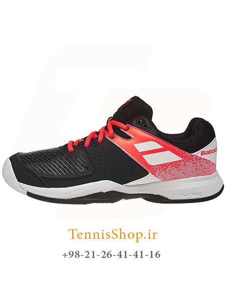 کفش تنیس مردانه بابولات مدل Pulsion رنگ قرمز مشکی
