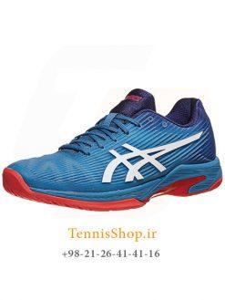 کفش تنیس مردانه اسیکس سری Solution Speed FF رنگ آبی