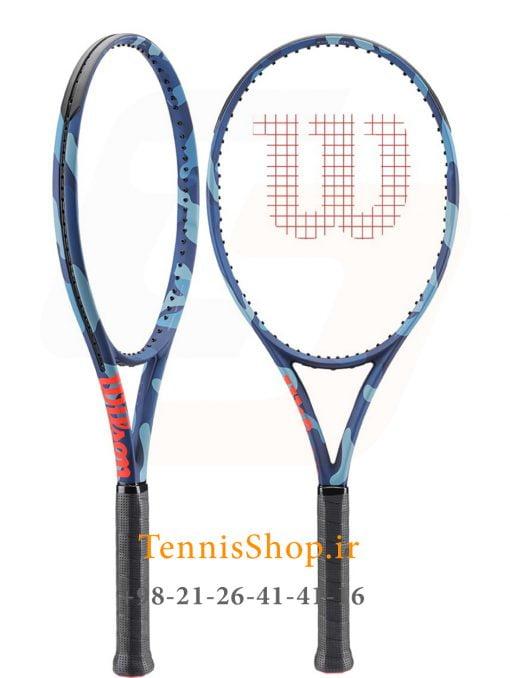 """تنیس ویلسون سری Ultra مدل 100L camo 2 <p style=""""text-align: justify;""""><span style=""""color: #003300;""""><span style=""""color: #ff6600;""""><strong><a style=""""color: #ff6600;"""" href=""""https://tennisshop.ir/product-category/%D8%AE%D8%B1%DB%8C%D8%AF-%D8%B1%D8%A7%DA%A9%D8%AA-%D8%AA%D9%86%DB%8C%D8%B3/%D8%B1%D8%A7%DA%A9%D8%AA-%D8%AA%D9%86%DB%8C%D8%B3-%D8%A8%D8%B1%D9%86%D8%AF/%D8%AE%D8%B1%DB%8C%D8%AF-%D8%B1%D8%A7%DA%A9%D8%AA-%D8%AA%D9%86%DB%8C%D8%B3-%D9%88%DB%8C%D9%84%D8%B3%D9%88%D9%86/"""" target=""""_blank"""" rel=""""noopener noreferrer"""">راکت تنیس ویلسون</a></strong> <strong><a style=""""color: #ff6600;"""" href=""""https://tennisshop.ir/series/%D9%88%DB%8C%D9%84%D8%B3%D9%88%D9%86-ultra/"""" target=""""_blank"""" rel=""""noopener noreferrer"""">سری Ultra</a></strong></span> <span style=""""color: #000000;"""">مدل 100L camo با وزن 277 گرم و اندازه صفحه 100 اینچ این راکت با طراحی بسیار مدرن و متفاوت خود در سال 2019 توسط کمپانی ویلسون معرفی شده است. که به <a href=""""https://mag.tennisshop.ir/%d8%aa%da%a9%d9%86%d9%88%d9%84%d9%88%da%98%db%8c-%d9%be%d8%a7%d8%b1%d8%a7%d9%84%d9%84-%d8%af%d8%b1%db%8c%d9%84%db%8c%d9%86%da%af-parallel-drilling-%d8%af%d8%b1-%d8%b1%d8%a7%da%a9%d8%aa-%d9%87%d8%a7/"""" target=""""_blank"""" rel=""""noopener noreferrer""""><span style=""""color: #0000ff;""""><strong>تکنولوژی Parallel Drilling</strong></span></a> مجهز شده و موجب افزایش سطح <strong>Sweet Spot</strong> ( ایده آل ترین منطقه برخورد توپ با زه راکت تنیس ) می شود و در نتیجه بازیکن راحت تر و با دقت بالاتری به توپ ضربه می زند.</span></span></p> <span style=""""color: #ff0000;""""><a style=""""color: #ff0000;"""" href=""""https://tennisshop.ir/product-category/%D8%AE%D8%B1%DB%8C%D8%AF-%D8%B2%D9%87-%D8%B1%D8%A7%DA%A9%D8%AA-%D8%AA%D9%86%DB%8C%D8%B3/"""" target=""""_blank"""" rel=""""noopener noreferrer"""">این راکت حرفه ای مانند سایر راکت های حرفه ای دیگر<strong>فاقد زه کشی</strong> می باشد و شما میتوانید زه انتخابی خود را با <strong>کلیک بر روی این متن</strong>انتخاب کنید و یا با مشاورین تنیس شاپ برای انتخاب زه مناسب این راکت مشورت نمایید.</a></span>"""