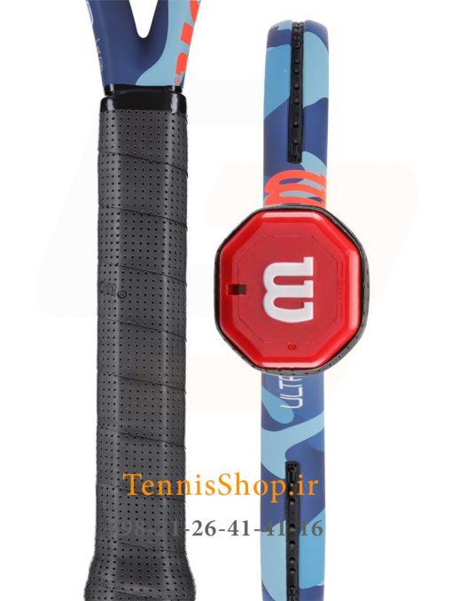 """تنیس ویلسون سری Ultra مدل 100L camo 3 <p style=""""text-align: justify;""""><span style=""""color: #003300;""""><span style=""""color: #ff6600;""""><strong><a style=""""color: #ff6600;"""" href=""""https://tennisshop.ir/product-category/%D8%AE%D8%B1%DB%8C%D8%AF-%D8%B1%D8%A7%DA%A9%D8%AA-%D8%AA%D9%86%DB%8C%D8%B3/%D8%B1%D8%A7%DA%A9%D8%AA-%D8%AA%D9%86%DB%8C%D8%B3-%D8%A8%D8%B1%D9%86%D8%AF/%D8%AE%D8%B1%DB%8C%D8%AF-%D8%B1%D8%A7%DA%A9%D8%AA-%D8%AA%D9%86%DB%8C%D8%B3-%D9%88%DB%8C%D9%84%D8%B3%D9%88%D9%86/"""" target=""""_blank"""" rel=""""noopener noreferrer"""">راکت تنیس ویلسون</a></strong> <strong><a style=""""color: #ff6600;"""" href=""""https://tennisshop.ir/series/%D9%88%DB%8C%D9%84%D8%B3%D9%88%D9%86-ultra/"""" target=""""_blank"""" rel=""""noopener noreferrer"""">سری Ultra</a></strong></span> <span style=""""color: #000000;"""">مدل 100L camo با وزن 277 گرم و اندازه صفحه 100 اینچ این راکت با طراحی بسیار مدرن و متفاوت خود در سال 2019 توسط کمپانی ویلسون معرفی شده است. که به <a href=""""https://mag.tennisshop.ir/%d8%aa%da%a9%d9%86%d9%88%d9%84%d9%88%da%98%db%8c-%d9%be%d8%a7%d8%b1%d8%a7%d9%84%d9%84-%d8%af%d8%b1%db%8c%d9%84%db%8c%d9%86%da%af-parallel-drilling-%d8%af%d8%b1-%d8%b1%d8%a7%da%a9%d8%aa-%d9%87%d8%a7/"""" target=""""_blank"""" rel=""""noopener noreferrer""""><span style=""""color: #0000ff;""""><strong>تکنولوژی Parallel Drilling</strong></span></a> مجهز شده و موجب افزایش سطح <strong>Sweet Spot</strong> ( ایده آل ترین منطقه برخورد توپ با زه راکت تنیس ) می شود و در نتیجه بازیکن راحت تر و با دقت بالاتری به توپ ضربه می زند.</span></span></p> <span style=""""color: #ff0000;""""><a style=""""color: #ff0000;"""" href=""""https://tennisshop.ir/product-category/%D8%AE%D8%B1%DB%8C%D8%AF-%D8%B2%D9%87-%D8%B1%D8%A7%DA%A9%D8%AA-%D8%AA%D9%86%DB%8C%D8%B3/"""" target=""""_blank"""" rel=""""noopener noreferrer"""">این راکت حرفه ای مانند سایر راکت های حرفه ای دیگر<strong>فاقد زه کشی</strong> می باشد و شما میتوانید زه انتخابی خود را با <strong>کلیک بر روی این متن</strong>انتخاب کنید و یا با مشاورین تنیس شاپ برای انتخاب زه مناسب این راکت مشورت نمایید.</a></span>"""