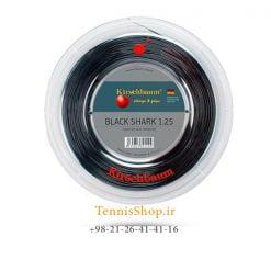 زه رول تنیس کریشبام سری BLACK SHARK مدل 1.25 رنگ مشکی
