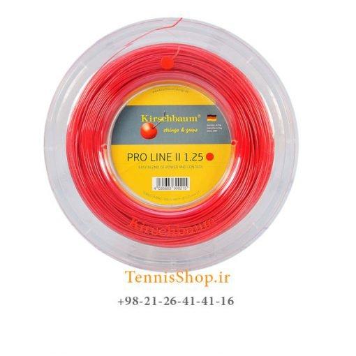 زه رول تنیس کریشبام سری PRO LINE II مدل 1.25 رنگ قرمز