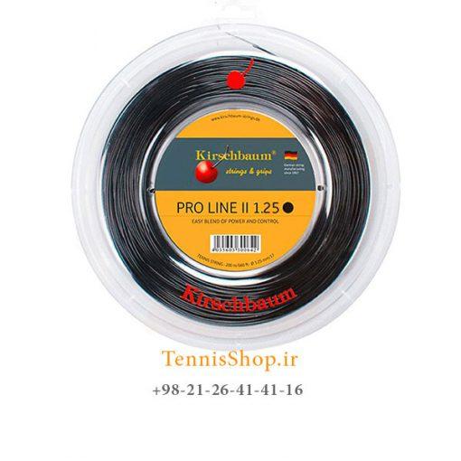زه رول تنیس کریشبام سری PRO LINE II مدل 1.25 رنگ مشکی