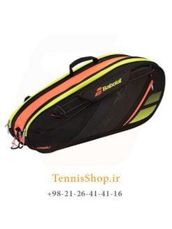 ساک تنیس بابولات سری Team Line مدل Expandable راکته رنگ مشکی زرد