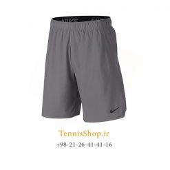 شلوارک تنیس نایک مدل Woven Training رنگ خاکستری