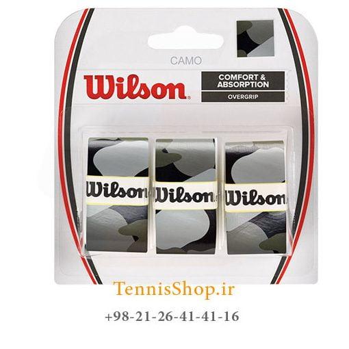 اورگریپ راکت تنیس ویلسون سری camo مدل 3 عددی