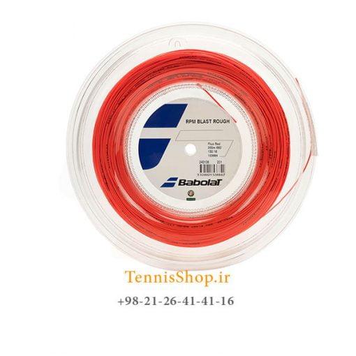 زه رول تنیس بابولات سری RPM BLAST ROUGH مدل 1.30 رنگ قرمز