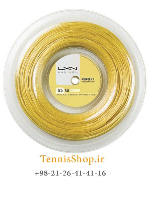 زه رول تنیس لوکسیلون سری 4G ROUGH مدل 1.25 رنگ زرد