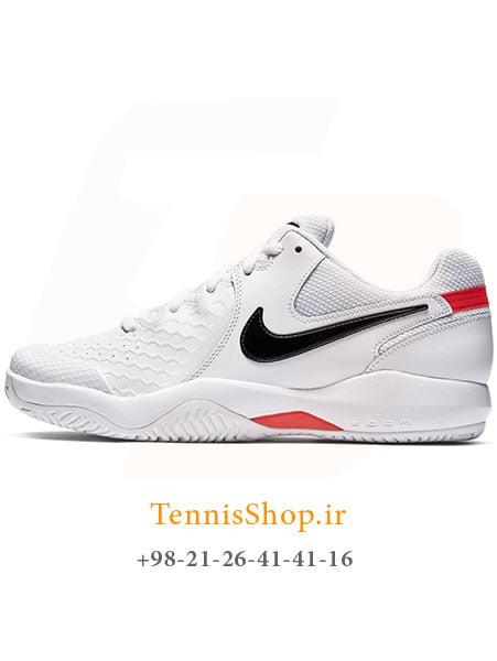 کفش تنیس مردانه نایک سری ZOOM RESISTANCE تکنولوژی AIR