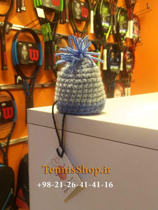 کلاه فانتزی گریپ راکت تنیس برند میل رنگ آبی خاکستری