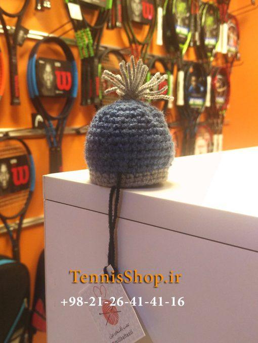 کلاه فانتزی گریپ راکت تنیس برند میل رنگ خاکستری آبی