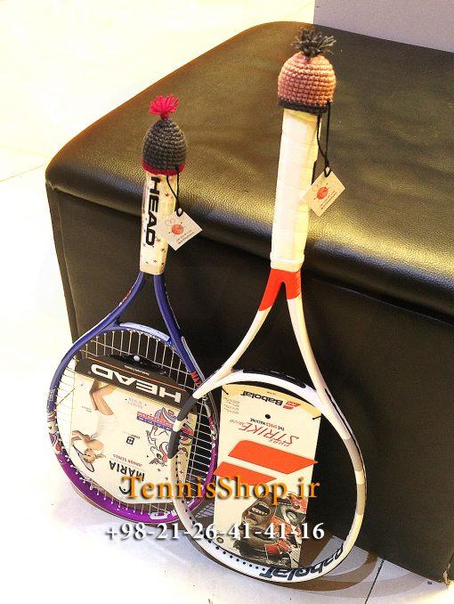 کلاه فانتزی گریپ راکت تنیس برند میل رنگ طوسی قهوه ای