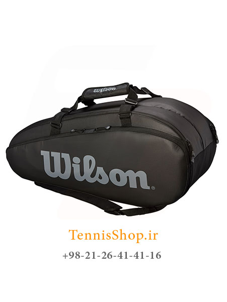 ساک تنیس ویلسون سری Super Tour 2 مدل 9 راکته رنگ مشکی