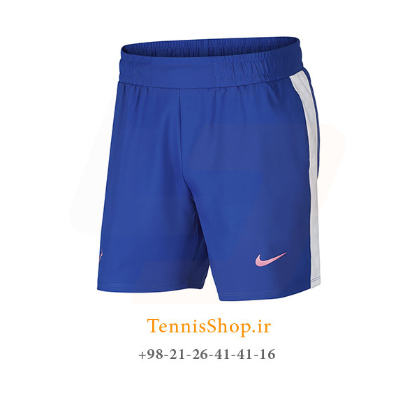 شلوارک تنیس نایک سری Dri-Fit Rafa Nadal رنگ آبی