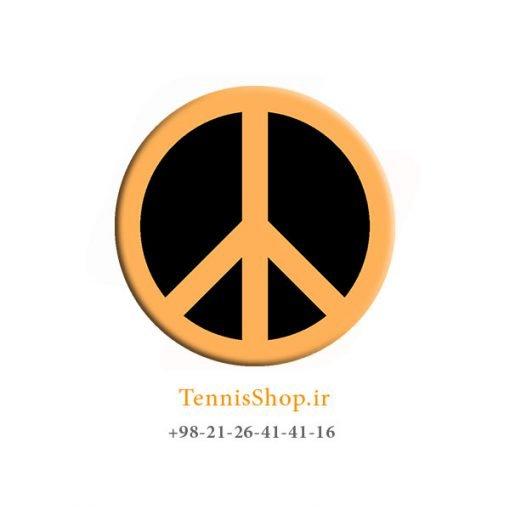 ضربه گیر تکی راکت تنیس ویلسون سری Bowl O Fun مدل Peace orange