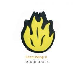 ضربه گیر تکی راکت تنیس ویلسون سری Bowl O Fun مدل Yellow Flames