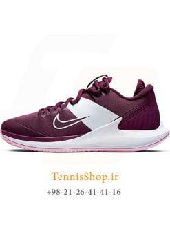 کفش تنیس زنانه نایک سری Zero تکنولوژی AIR ZOOM رنگ بنفش
