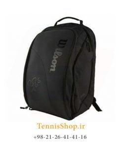 کوله پشتی تنیس ویلسون سری Dna Federer رنگ مشکی