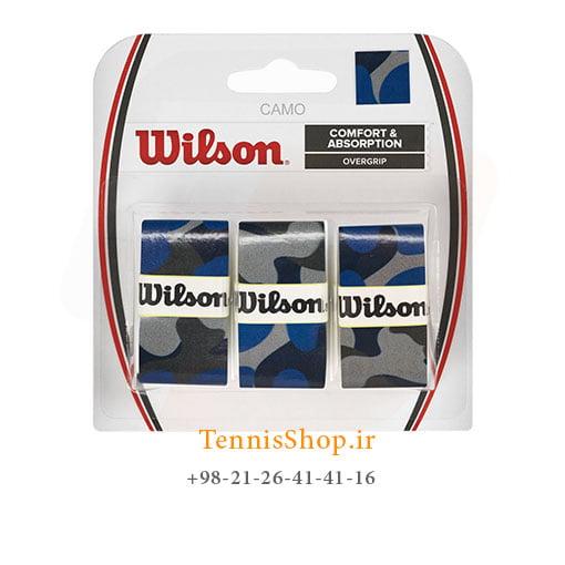 اورگریپ راکت تنیس ویلسون سری camo مدل 3 عددی آبی