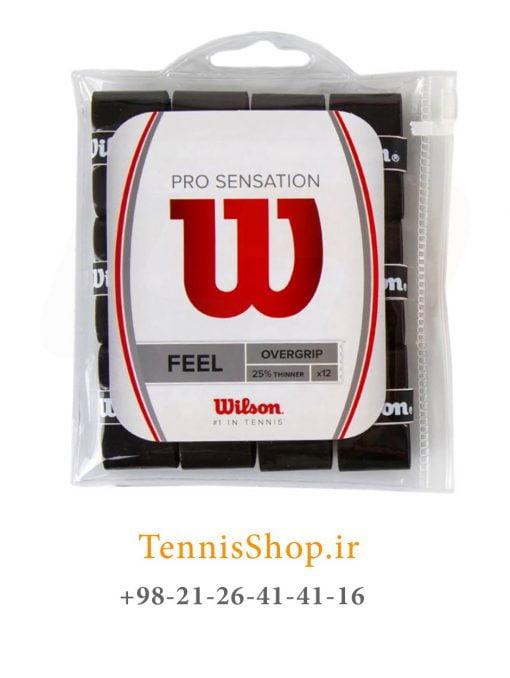اورگریپ راکت تنیس ویلسون سری PRO SENSATION مدل 12 عددی