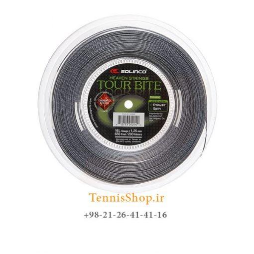 زه رول تنیس سولینکو سری TOUR BITE ROUGH مدل 1.25 رنگ خاکستری