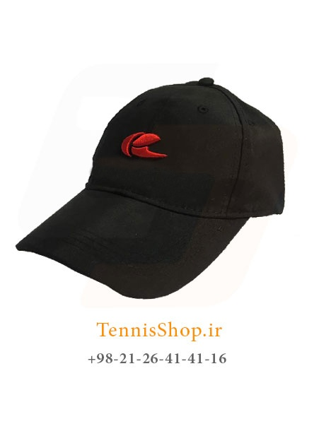 کلاه تنیس سولینکو رنگ مشکی