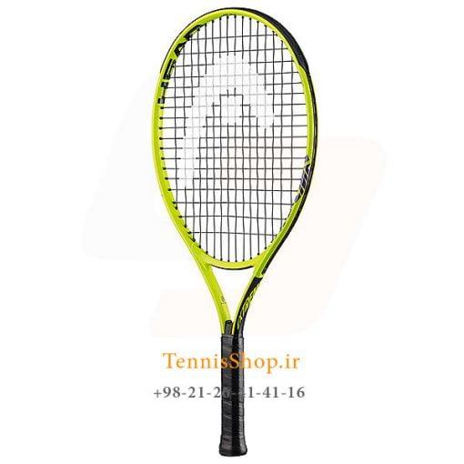 """تنیس بچه گانه هد سری Extreme مدل Jr 23 1 <p style=""""text-align: justify;""""><span style=""""color: #000000;""""><strong><span style=""""color: #ff6600;""""><a style=""""color: #ff6600;"""" href=""""https://tennisshop.ir/brand/%d9%86%d9%85%d8%a7%db%8c%d9%86%d8%af%da%af%db%8c-%d8%b1%d8%b3%d9%85%db%8c-%d9%81%d8%b1%d9%88%d8%b4-%d8%a8%d8%b1%d9%86%d8%af-%d9%87%d8%af-head/"""" target=""""_blank"""" rel=""""noopener noreferrer"""">راکت تنیس بچه گانه هد</a> <a style=""""color: #ff6600;"""" href=""""https://tennisshop.ir/series/extreme-head/"""" target=""""_blank"""" rel=""""noopener noreferrer"""">سری Extreme</a></span></strong> مدل Jr 23 ، محصول شرکت هد ( Head ) می باشد. این راکت تنیس با وزن 215 گرم و برای سنین 6 تا 8 سال طراحی شده است. تکنولوژی به کار رفته در ساخت این راکت تنیس شوک های ناشی از ضربه را کاهش می دهد و این امر منجر به ضربه ای راحت و مطمئن برای بازیکنان سنین پابین خواهد شد. این راکت با رنگ بندی بسیار زیبا و طراحی جدید برای استفاده این سنین بسیار لذت بخش خواهد بود.</span></p> <p style=""""text-align: justify;""""><span style=""""color: #000000;""""><strong>این راکت تنیس علاوه بر طراحی برای سنین 6 تا 8 سال برای بازیکنانی در بازه قدی 110 سانتی متر تا 126 سانتی متر نیز مناسب می باشد.</strong></span></p>"""