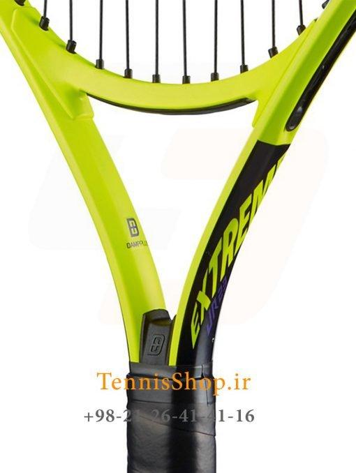 """تنیس بچه گانه هد سری Extreme مدل Jr 23 2 <p style=""""text-align: justify;""""><span style=""""color: #000000;""""><strong><span style=""""color: #ff6600;""""><a style=""""color: #ff6600;"""" href=""""https://tennisshop.ir/brand/%d9%86%d9%85%d8%a7%db%8c%d9%86%d8%af%da%af%db%8c-%d8%b1%d8%b3%d9%85%db%8c-%d9%81%d8%b1%d9%88%d8%b4-%d8%a8%d8%b1%d9%86%d8%af-%d9%87%d8%af-head/"""" target=""""_blank"""" rel=""""noopener noreferrer"""">راکت تنیس بچه گانه هد</a> <a style=""""color: #ff6600;"""" href=""""https://tennisshop.ir/series/extreme-head/"""" target=""""_blank"""" rel=""""noopener noreferrer"""">سری Extreme</a></span></strong> مدل Jr 23 ، محصول شرکت هد ( Head ) می باشد. این راکت تنیس با وزن 215 گرم و برای سنین 6 تا 8 سال طراحی شده است. تکنولوژی به کار رفته در ساخت این راکت تنیس شوک های ناشی از ضربه را کاهش می دهد و این امر منجر به ضربه ای راحت و مطمئن برای بازیکنان سنین پابین خواهد شد. این راکت با رنگ بندی بسیار زیبا و طراحی جدید برای استفاده این سنین بسیار لذت بخش خواهد بود.</span></p> <p style=""""text-align: justify;""""><span style=""""color: #000000;""""><strong>این راکت تنیس علاوه بر طراحی برای سنین 6 تا 8 سال برای بازیکنانی در بازه قدی 110 سانتی متر تا 126 سانتی متر نیز مناسب می باشد.</strong></span></p>"""