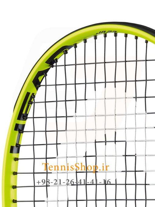 """تنیس بچه گانه هد سری Extreme مدل Jr 23 3 <p style=""""text-align: justify;""""><span style=""""color: #000000;""""><strong><span style=""""color: #ff6600;""""><a style=""""color: #ff6600;"""" href=""""https://tennisshop.ir/brand/%d9%86%d9%85%d8%a7%db%8c%d9%86%d8%af%da%af%db%8c-%d8%b1%d8%b3%d9%85%db%8c-%d9%81%d8%b1%d9%88%d8%b4-%d8%a8%d8%b1%d9%86%d8%af-%d9%87%d8%af-head/"""" target=""""_blank"""" rel=""""noopener noreferrer"""">راکت تنیس بچه گانه هد</a> <a style=""""color: #ff6600;"""" href=""""https://tennisshop.ir/series/extreme-head/"""" target=""""_blank"""" rel=""""noopener noreferrer"""">سری Extreme</a></span></strong> مدل Jr 23 ، محصول شرکت هد ( Head ) می باشد. این راکت تنیس با وزن 215 گرم و برای سنین 6 تا 8 سال طراحی شده است. تکنولوژی به کار رفته در ساخت این راکت تنیس شوک های ناشی از ضربه را کاهش می دهد و این امر منجر به ضربه ای راحت و مطمئن برای بازیکنان سنین پابین خواهد شد. این راکت با رنگ بندی بسیار زیبا و طراحی جدید برای استفاده این سنین بسیار لذت بخش خواهد بود.</span></p> <p style=""""text-align: justify;""""><span style=""""color: #000000;""""><strong>این راکت تنیس علاوه بر طراحی برای سنین 6 تا 8 سال برای بازیکنانی در بازه قدی 110 سانتی متر تا 126 سانتی متر نیز مناسب می باشد.</strong></span></p>"""