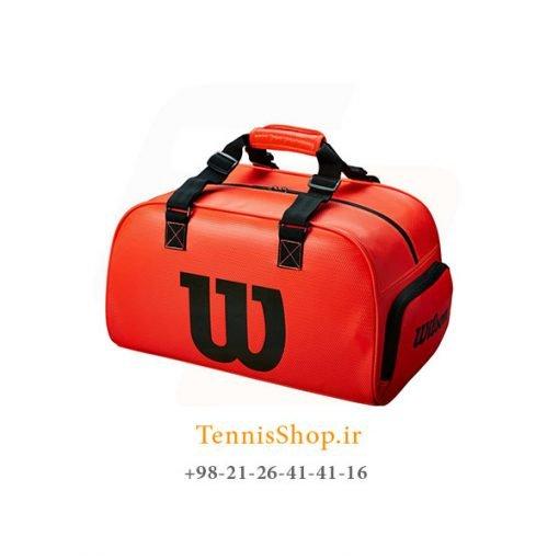 ساک باشگاهی تنیس ویلسون سری Duffle مدل SMALL INFRARED رنگ قرمز