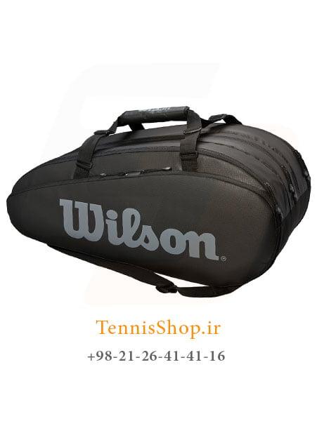 ساک تنیس ویلسون سری Tour 3 مدل 15 راکته رنگ مشکی