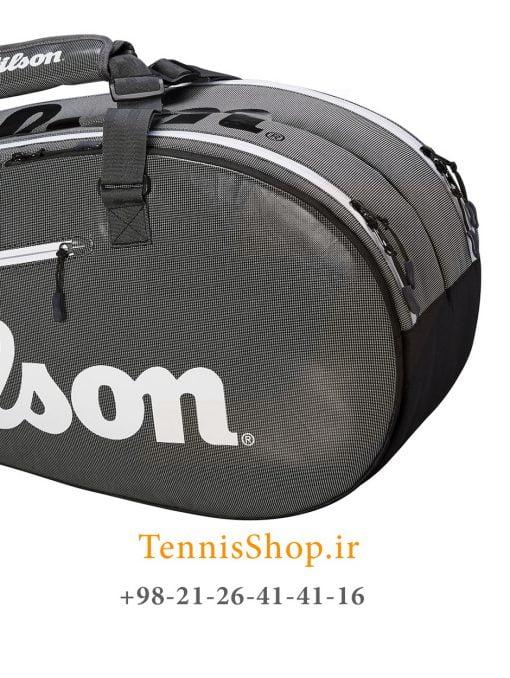 ساک تنیس ویلسون سری Tour 2 مدل 6 راکته رنگ مشکی