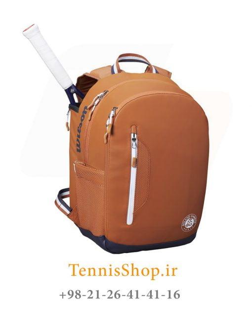 کوله پشتی تنیس ویلسون سری ROLAND GARROS رنگ قهوه ای