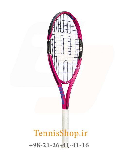 راکت تنیس بچگانه ویلسون سری Burn مدل 25 رنگ صورتی