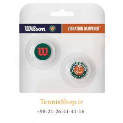 ضربه گیر راکت تنیس ویلسون 2 عددی مدل Roland Garros