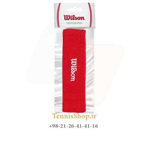 هد بند حوله ای تنیس ویلسون رنگ قرمز