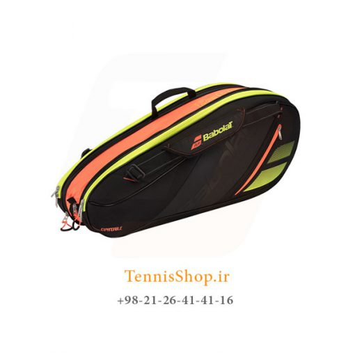 ساک تنیس بابولات سری Team مدل Expandable رنگ مشکی زرد