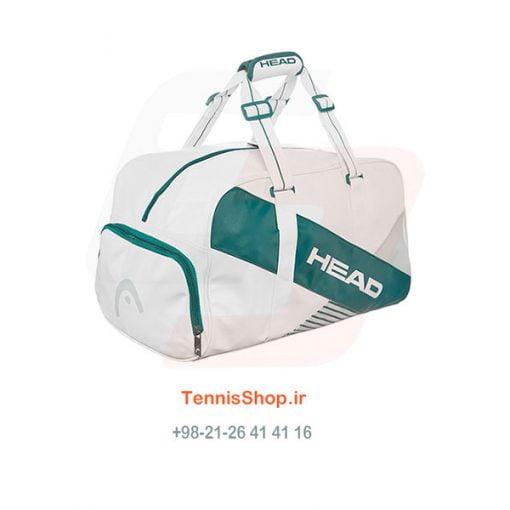ساک باشگاهی تنیس هد سری Major رنگ سبز سفید