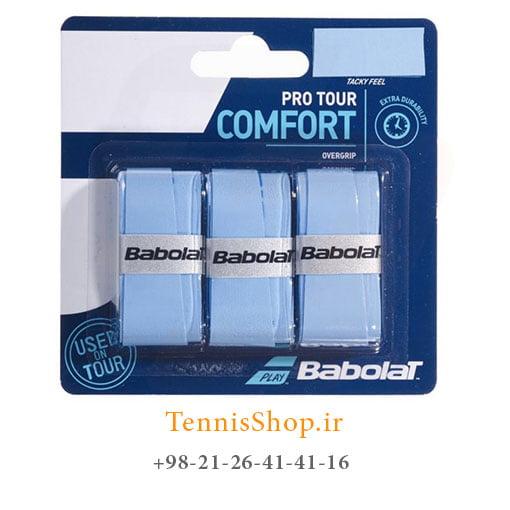 اورگریپ راکت تنیس بابولات سری Pro Tour Comfort مدل 3 عددی آبی