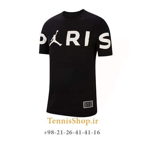 تیشرت تنیس مردانه جردن مدل PSG Paris