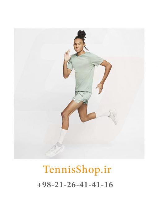 تیشرت تنیس مردانه نایک سری NK مدل BREATHE RUN TOP