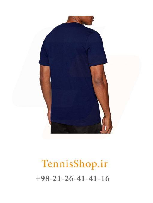 تیشرت تنیس مردانه نایک سری NSW مدل TEE AIR HBR 2 رنگ آبی