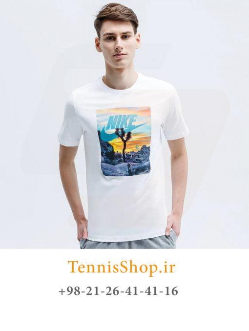 تیشرت تنیس مردانه نایک سری NSW مدل Tee Festival