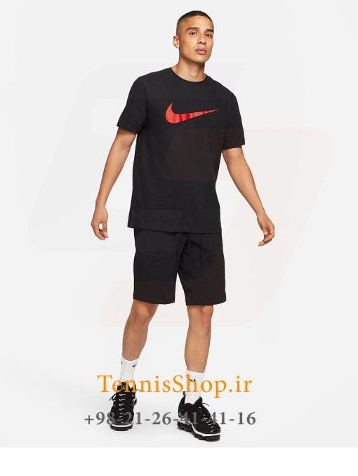 تیشرت تنیس مردانه نایک مدل Sportswear رنگ مشکی